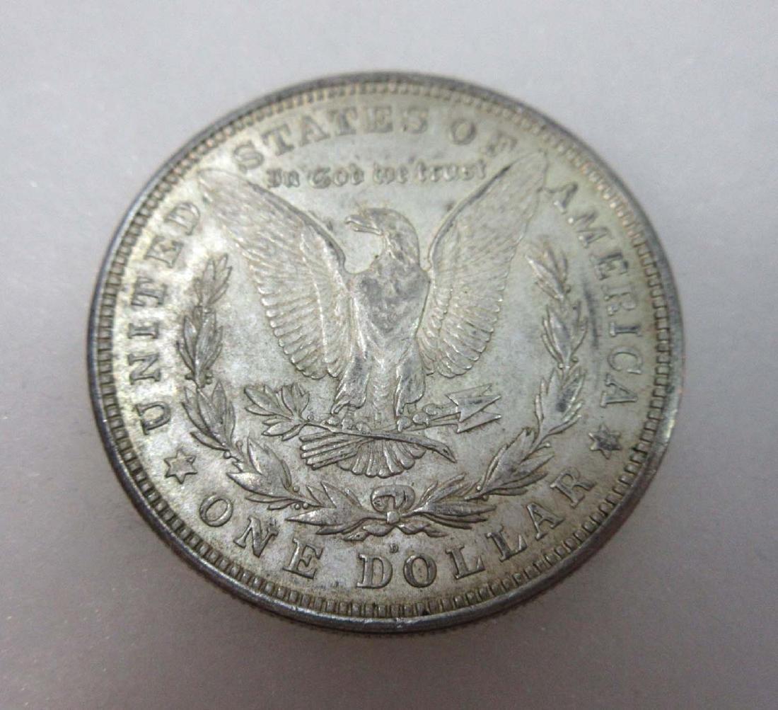 1921-D US Silver Dollar - 2