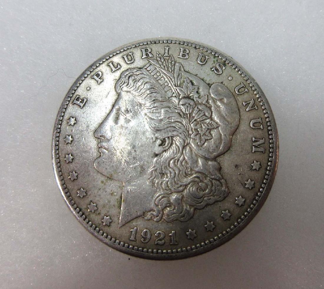 1921-S US Silver Dollar