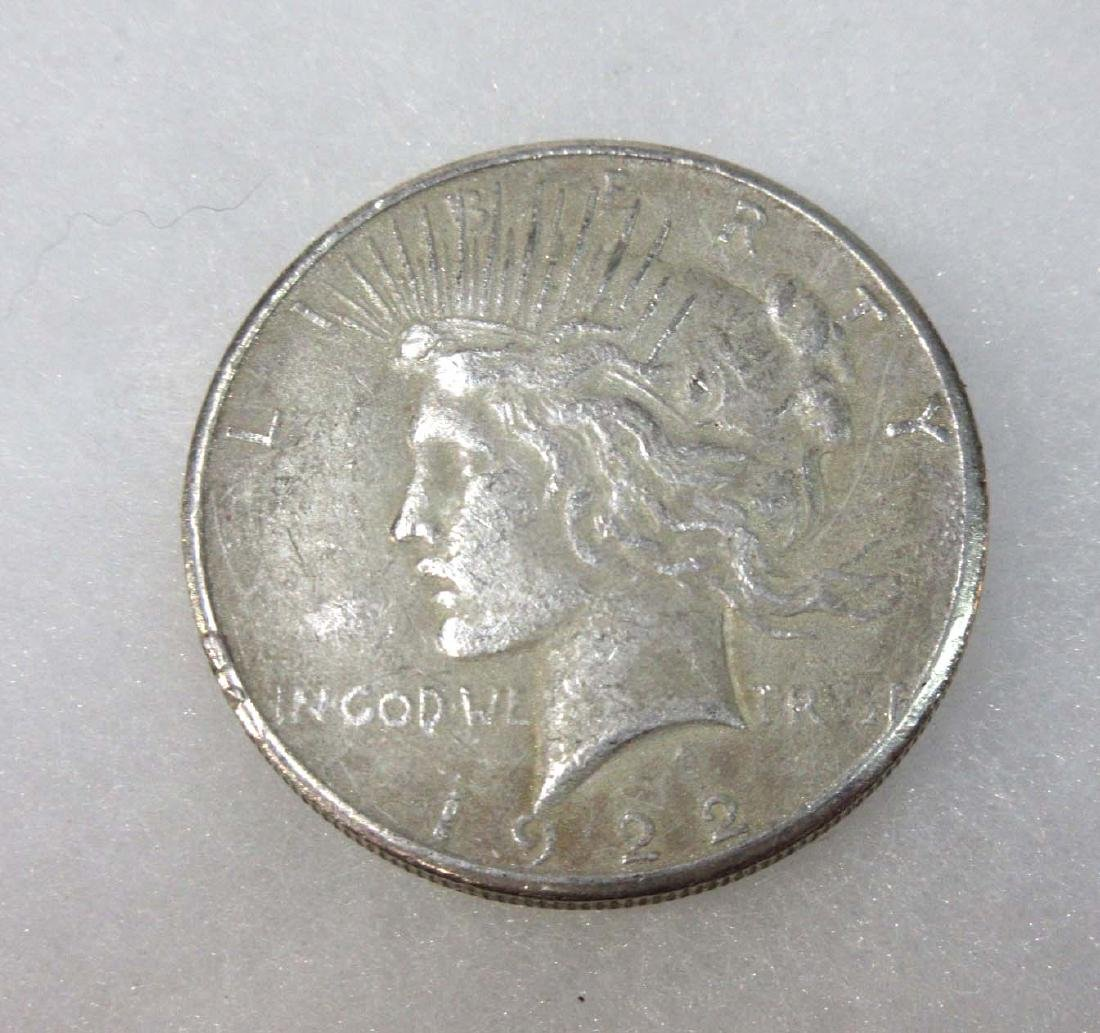 1922-S US Silver Dollar