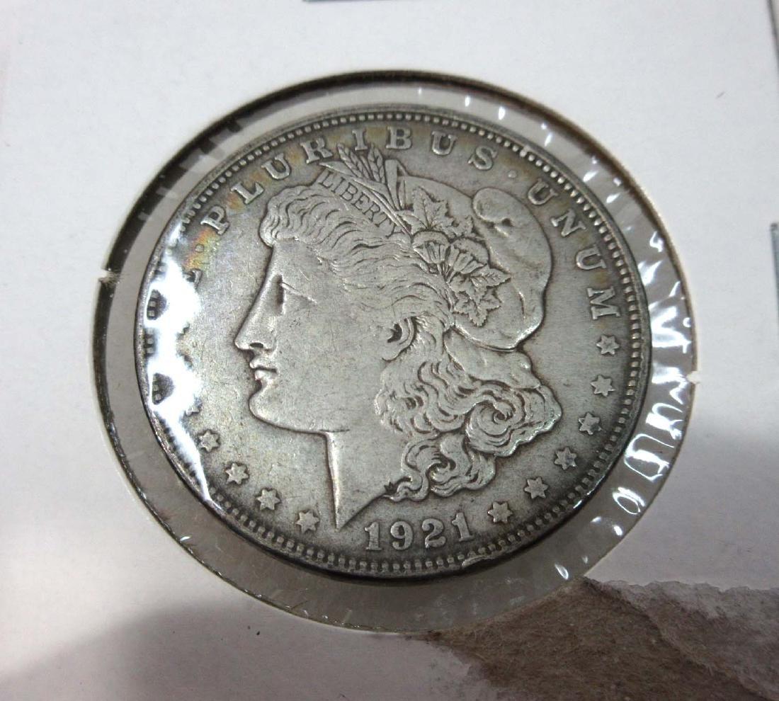 1921-D US Silver Dollar