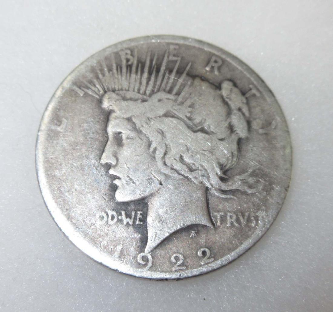 1922-P US Silver Dollar