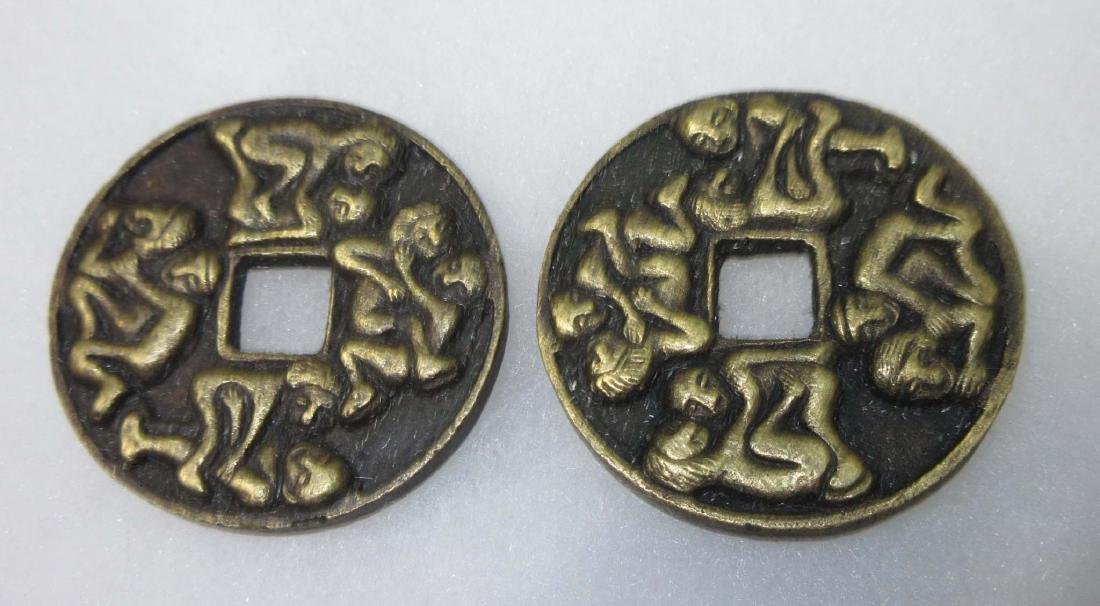 2 Modern Erotic Coins - 2