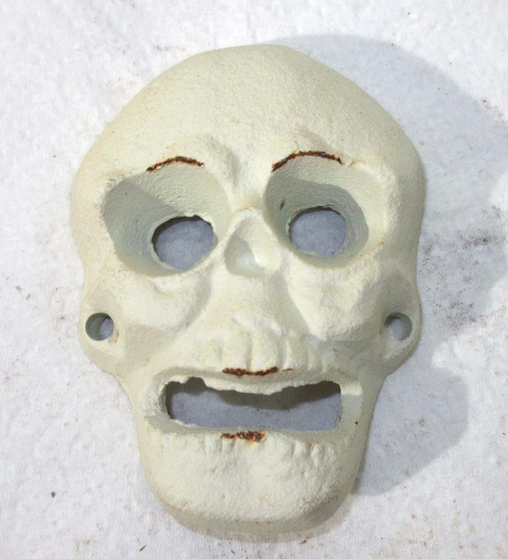 Modern Cast Iron Skull Bottle Opener