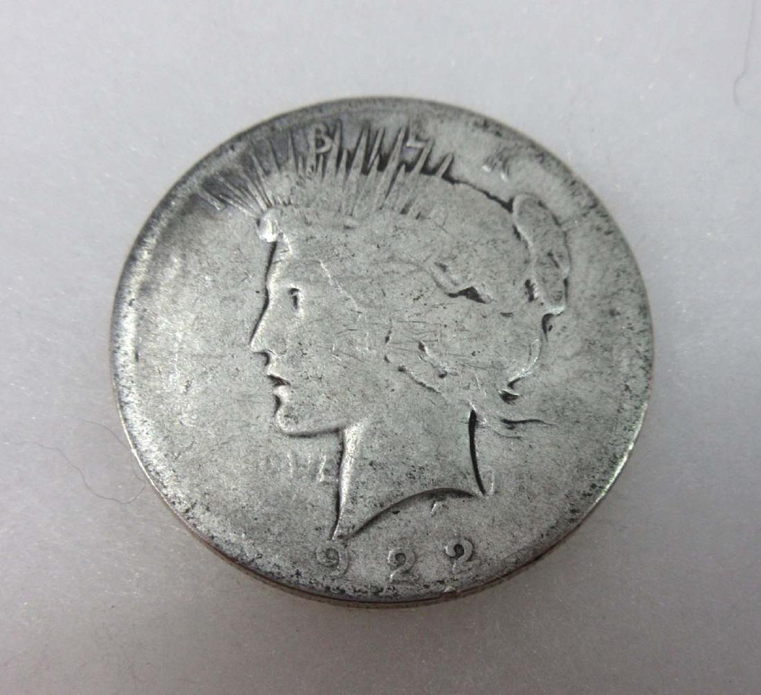 1922-D US Silver Dollar