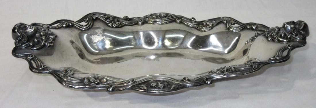 Victorian S.P. Tray w/ Woman's Heads