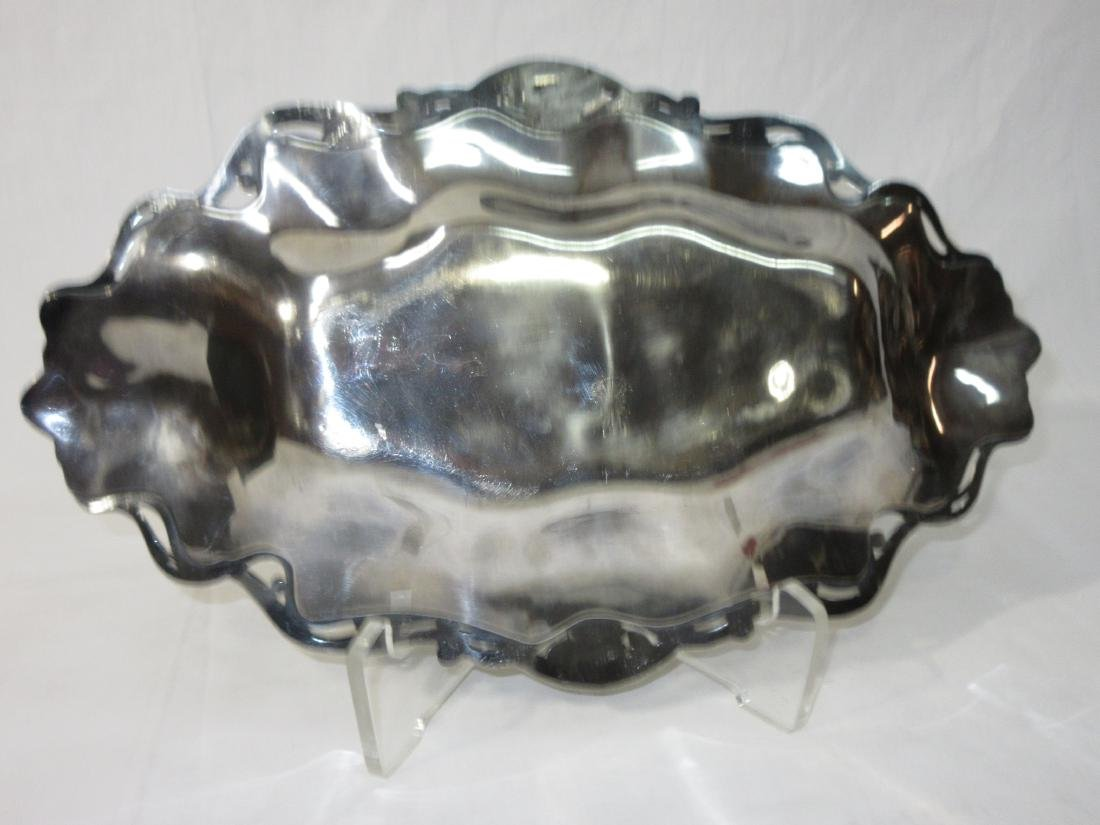 Victorian S.P. Tray w/ Woman's Heads - 3
