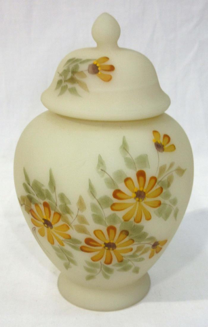 Fenton H.P. Ginger Jar