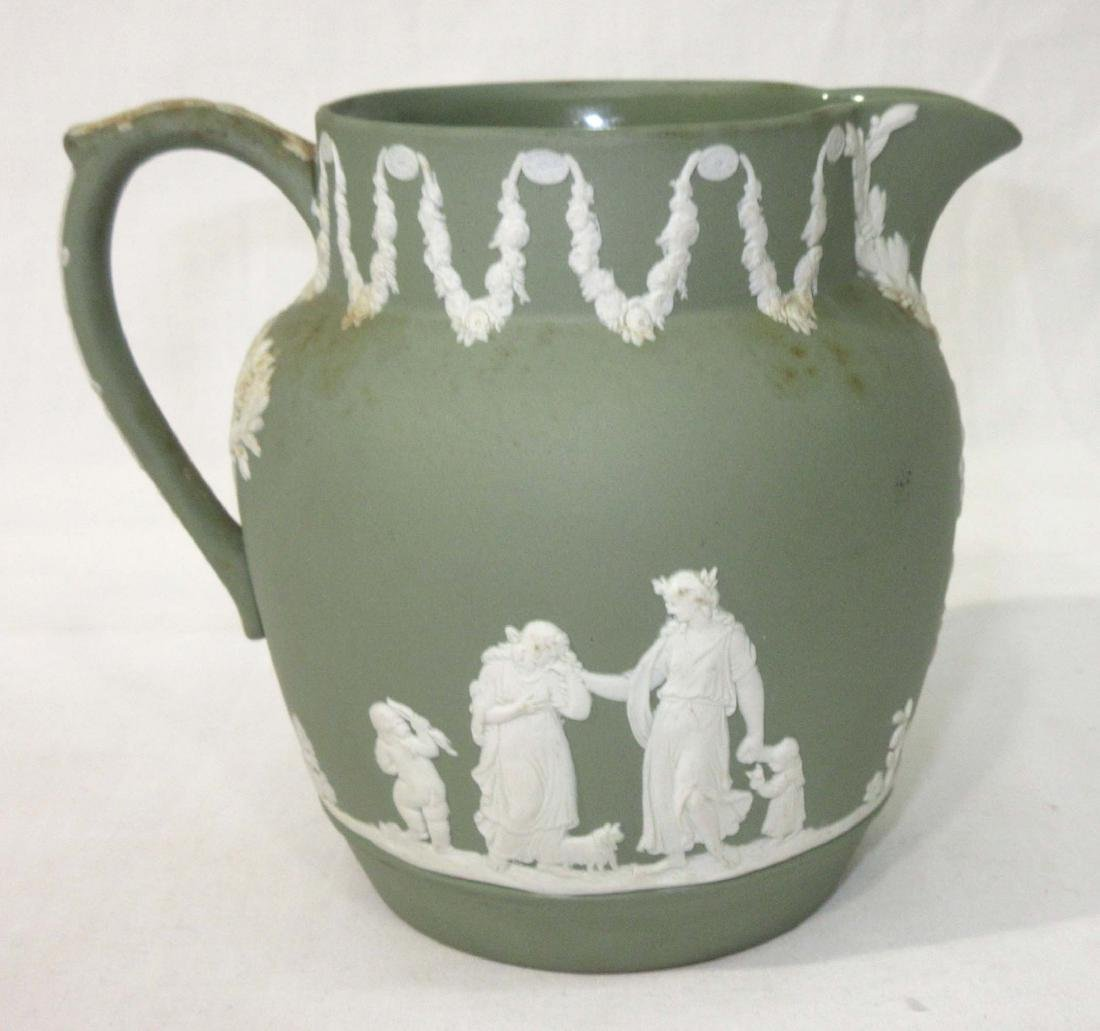 Green Wedgwood Pitcher
