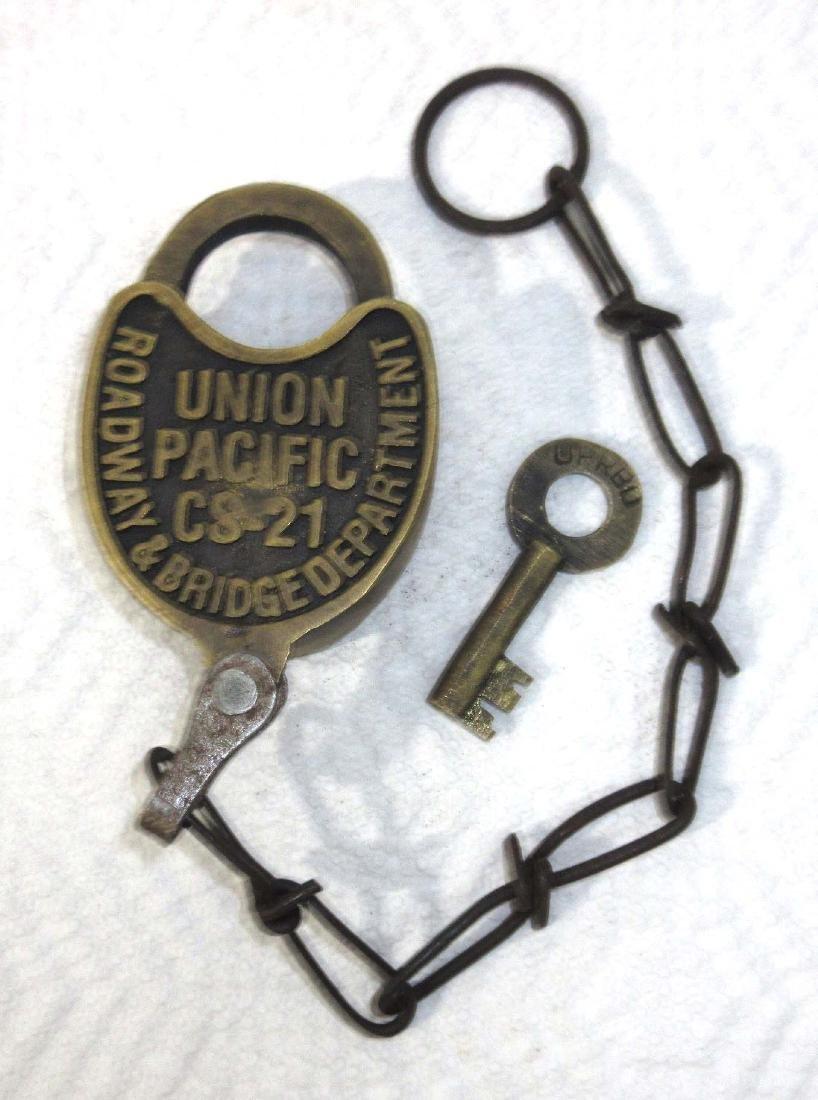 Modern Railroad Lock & Key
