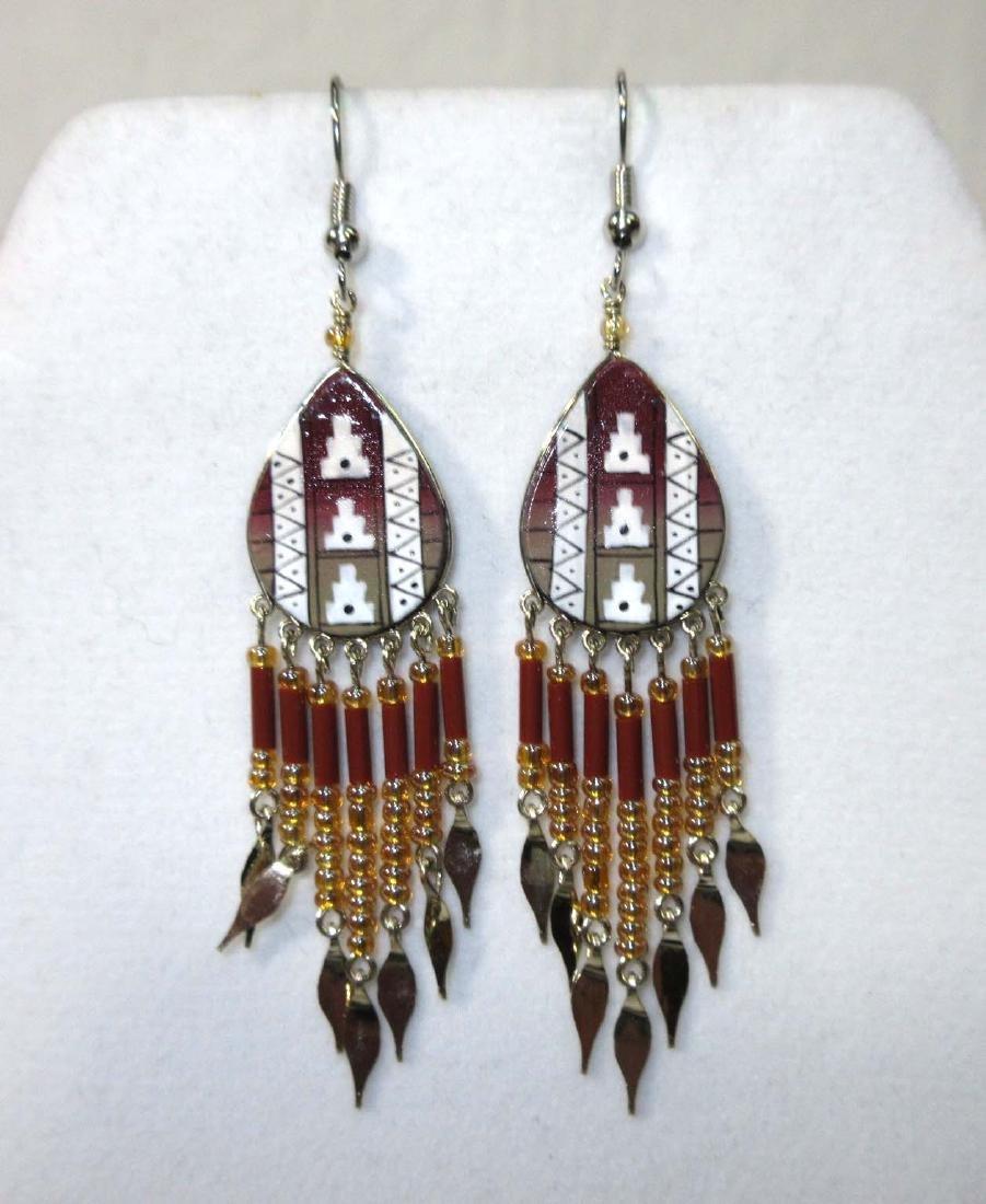 Pr Navajo Style Earrings