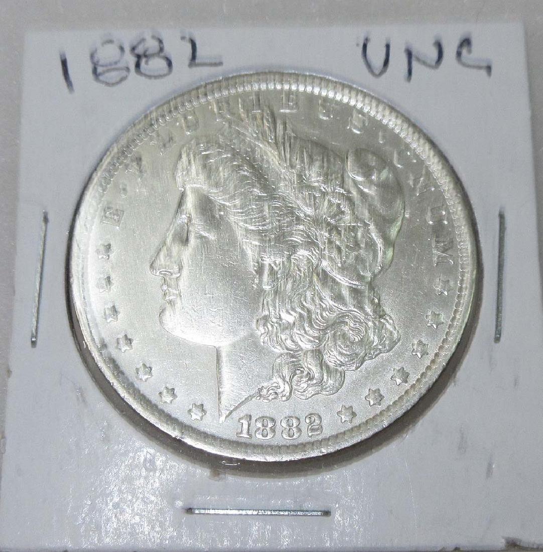1882 Silver Dollar