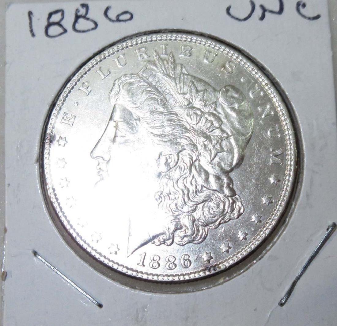 1886 Silver Dollar