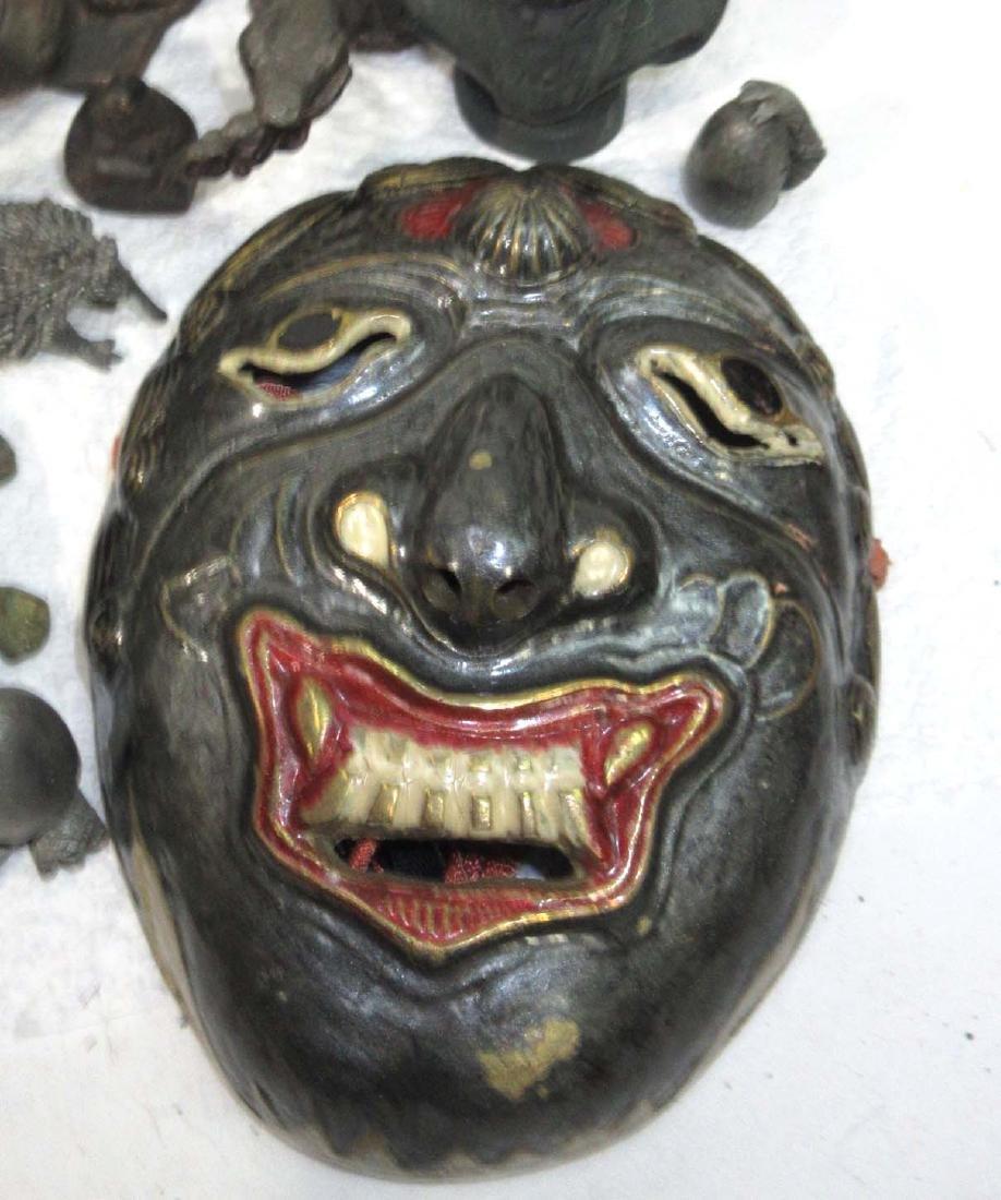 Lot of Oriental Metal Figures - 4