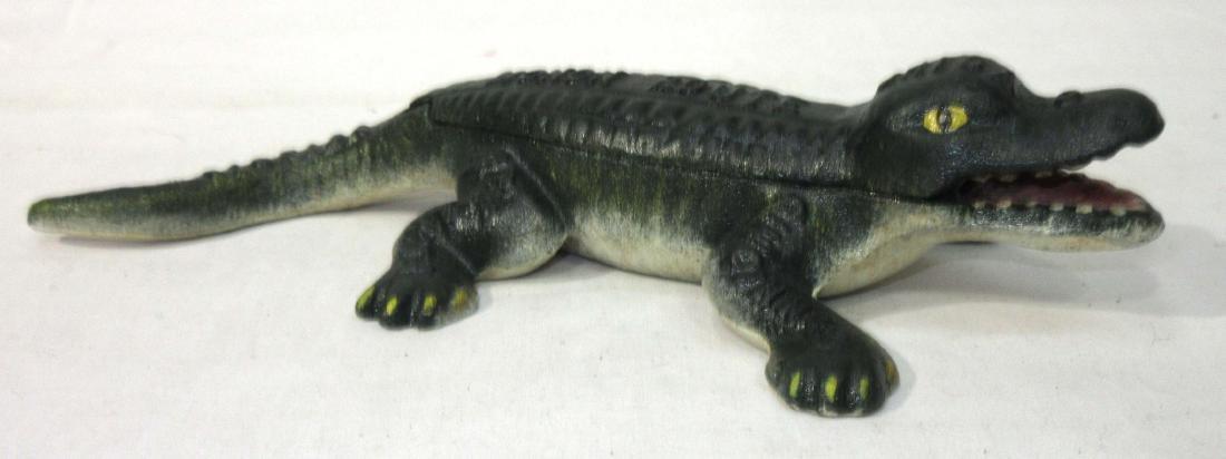 Modern Cast Iron Monon Route Alligator