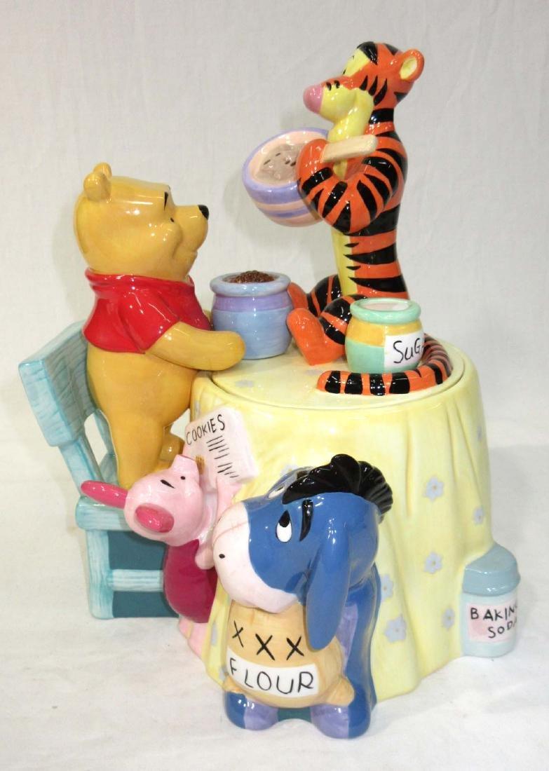 Pooh & Tigger Cookie Jar