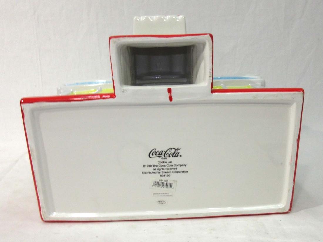 Coca Cola Cookie Jar - 2