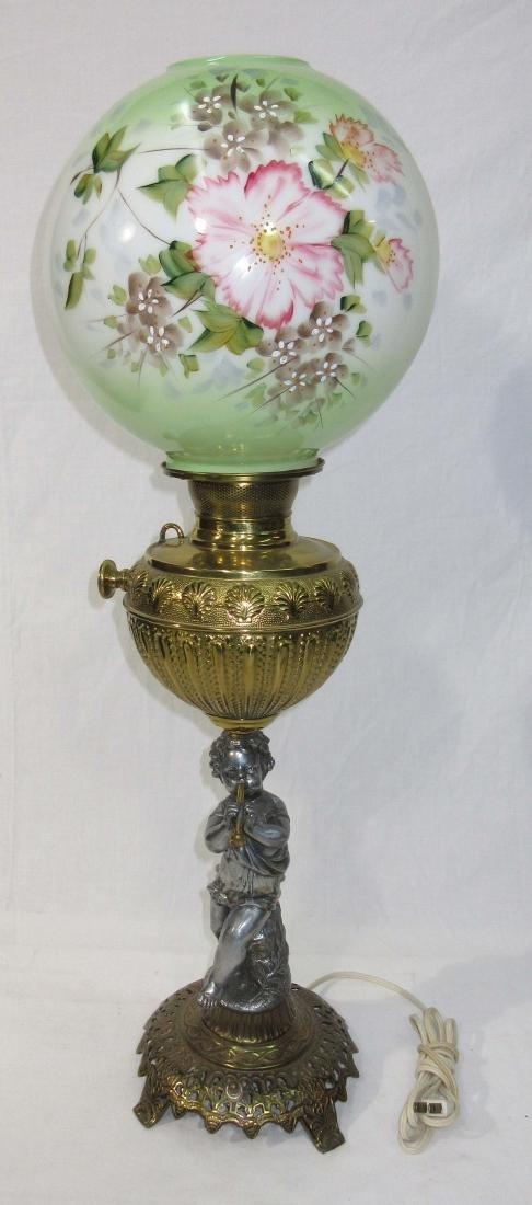 Cherub Base Banquet Lamp