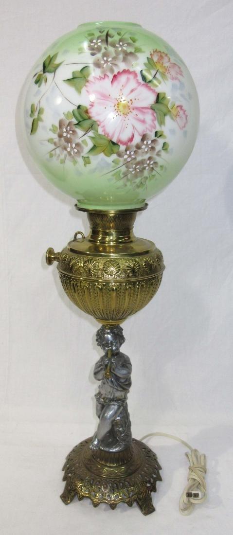 Cherub Base Banquet Lamp - 2