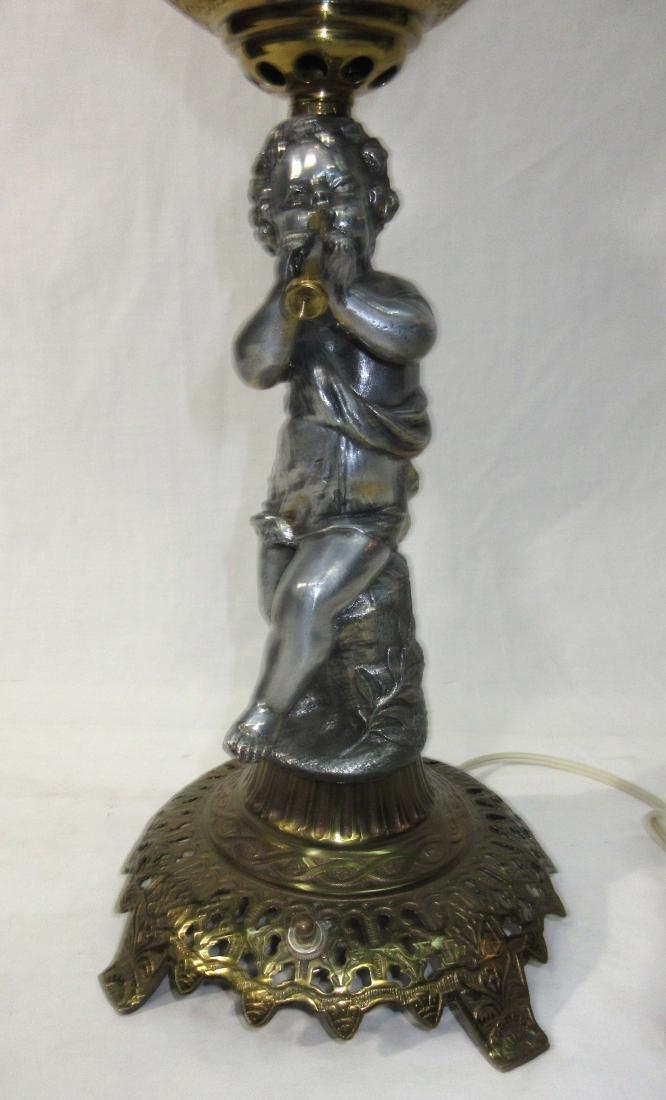 Cherub Base Banquet Lamp - 5