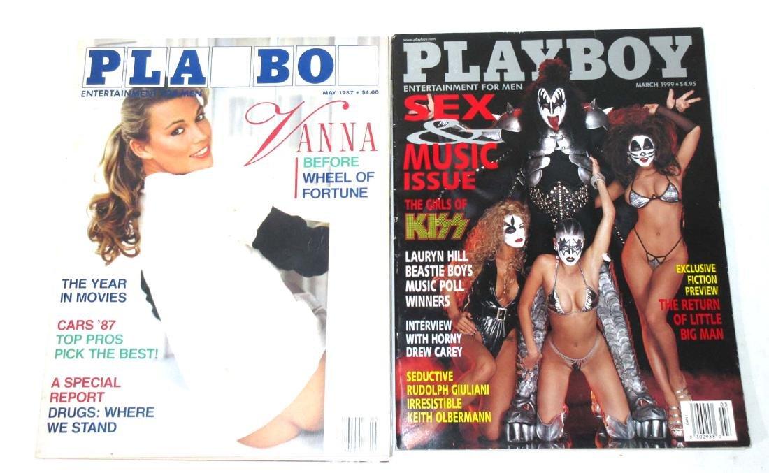 KISS & Vanna White Playboy Magazines