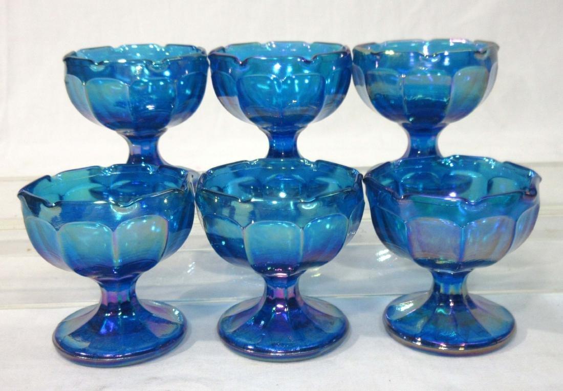 Set of 6 Pedestal Individual Salts