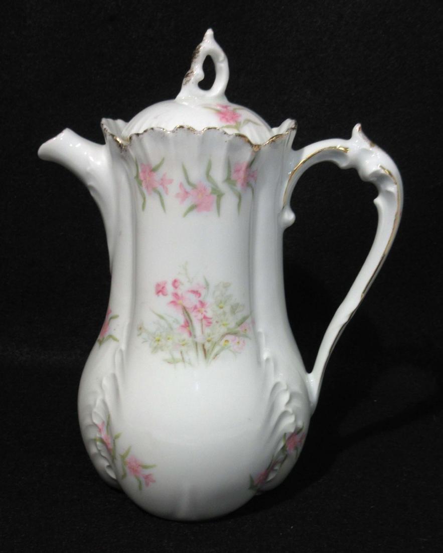 H.P. Victorian Chocolate Pot