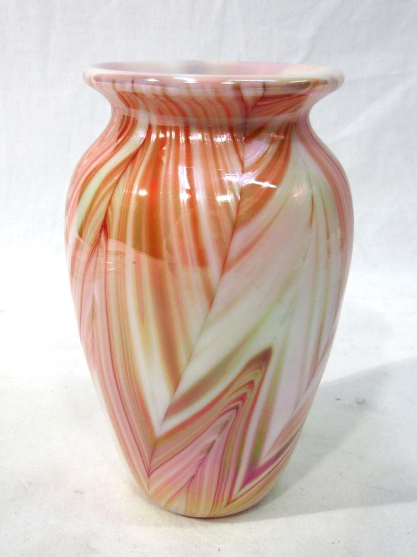 Gibson Art Glass Vase