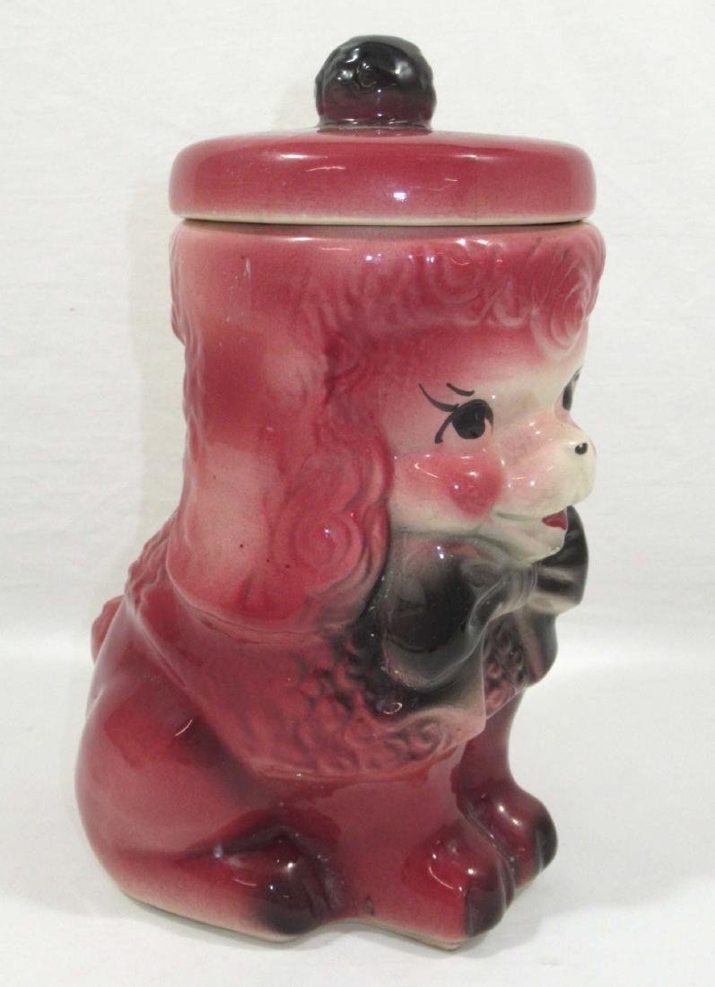 American Bisque Pink Poodle Cookie Jar