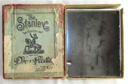 Box of 10 Dry Plate Photographic Negatives