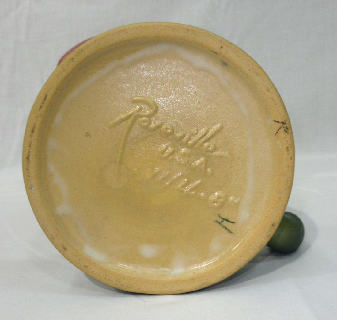 Roseville Pottery Vase 144-8 - 3