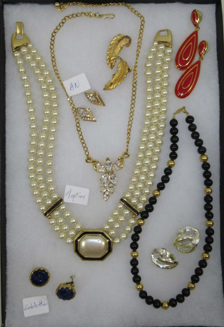 Beautiful Napier,Goldette, AN Sgnd. Jewelry 8pc.