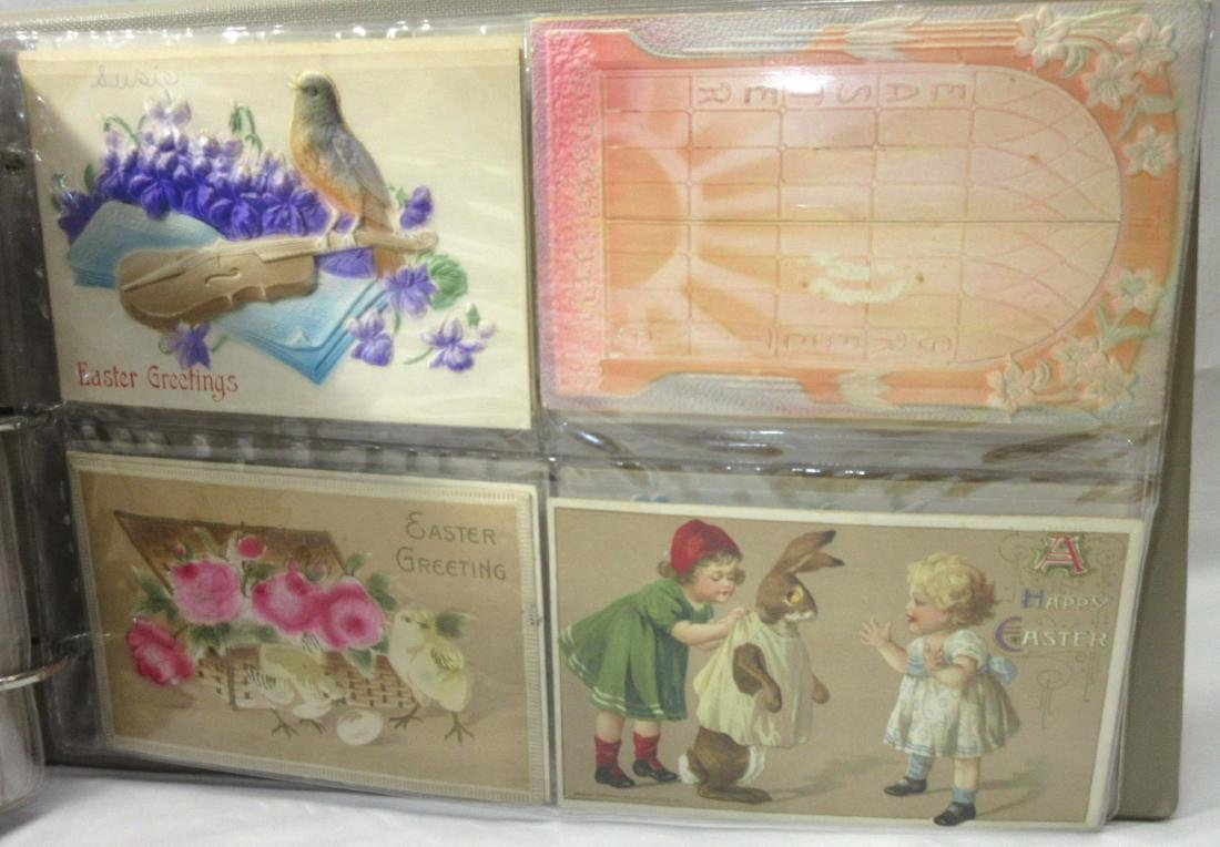 Album w/ 112 Easter Postcards - 4