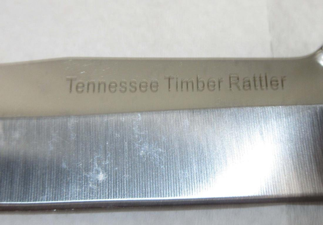 Tennessee Timber Rattler Bowie Knife - 3