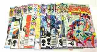 28 Asst Marvel Comics Capt America Daredevil Etc