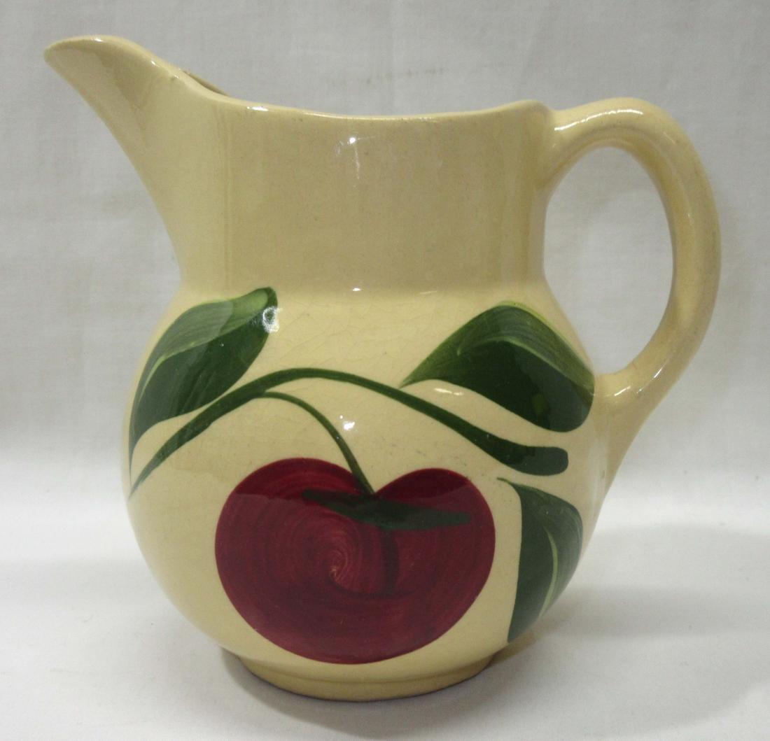 Watts Pottery Apple Pitcher