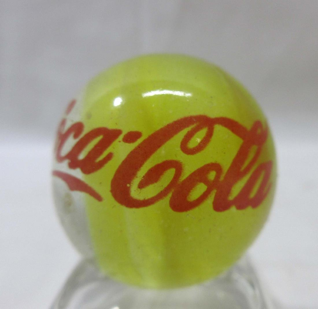 Lg Coca Cola Cats Eye Marble