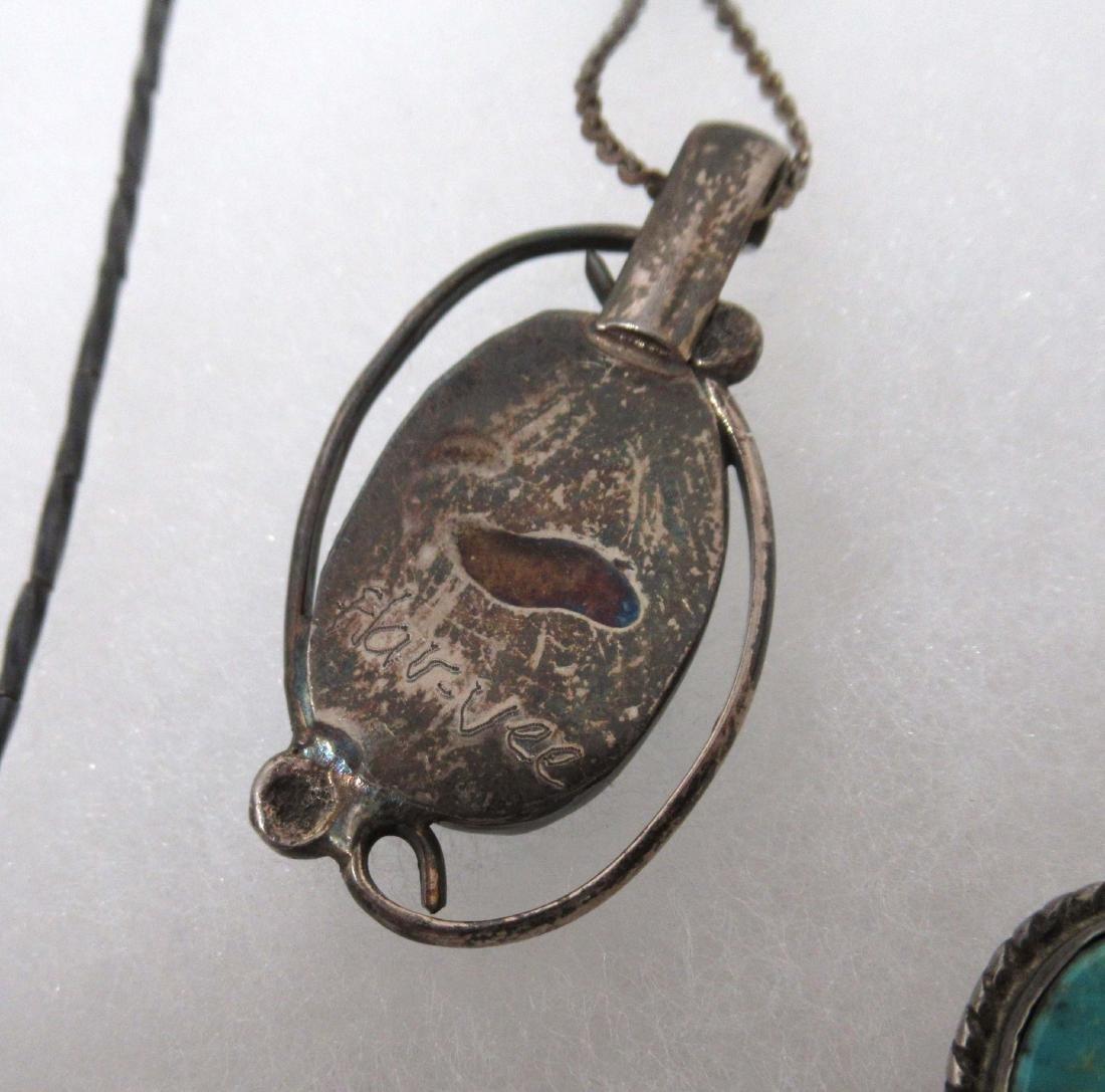 Turquoise & Malachite Indian Jewelry - 6
