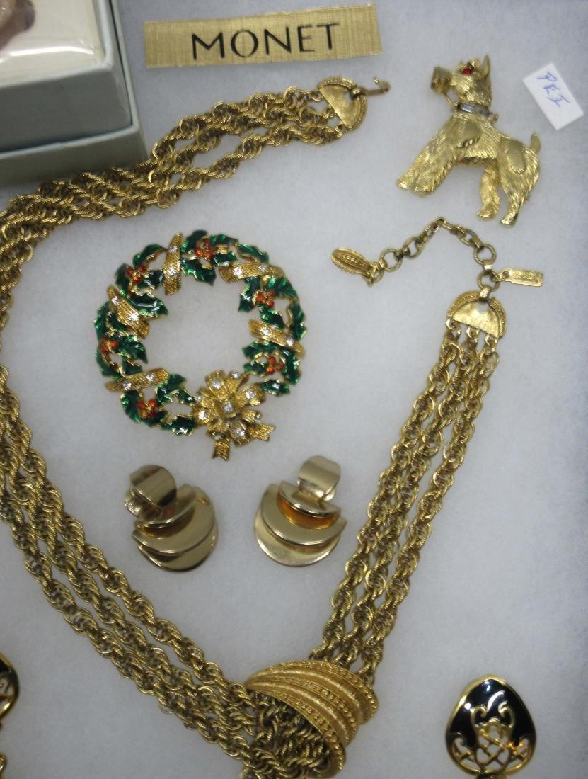 Sgnd Costume Jewelry - 2