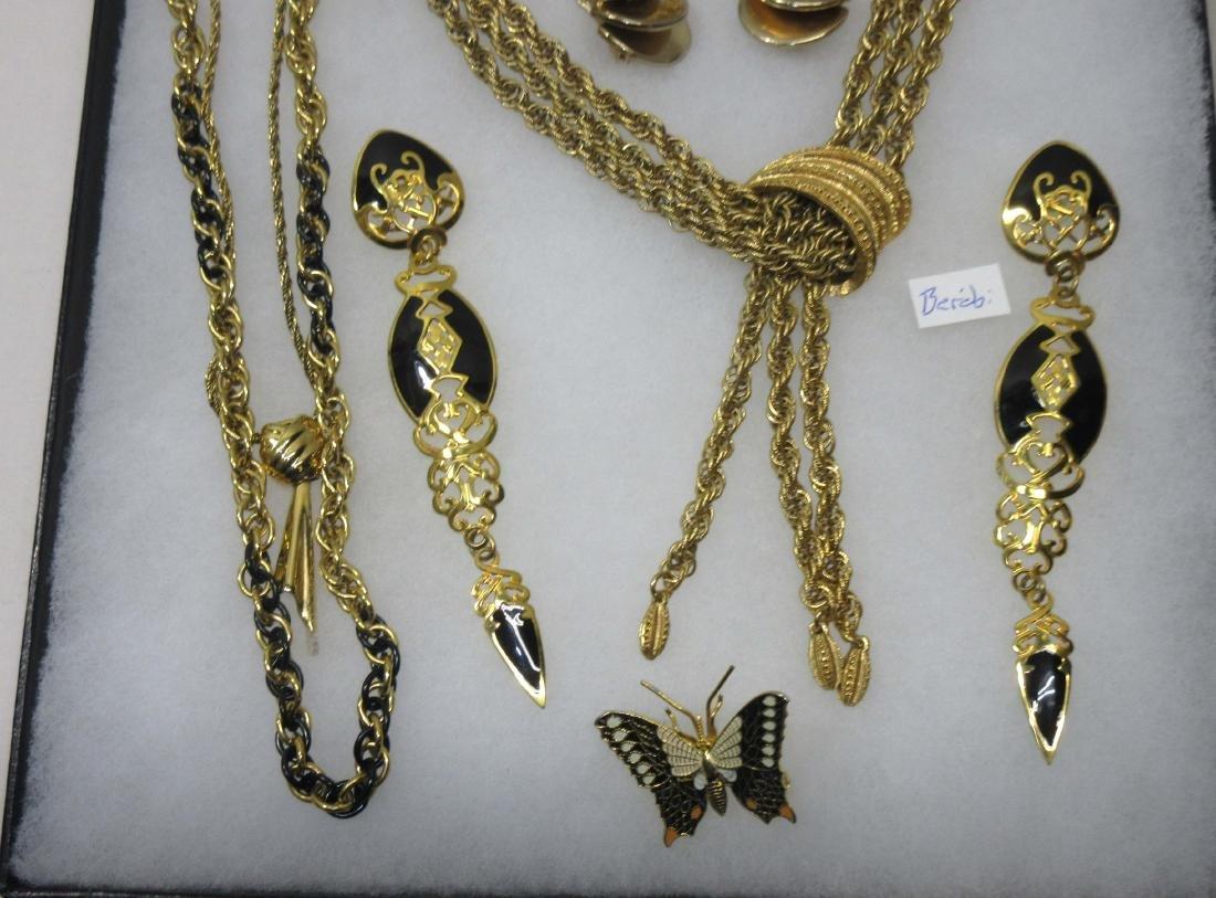 Sgnd Costume Jewelry - 3