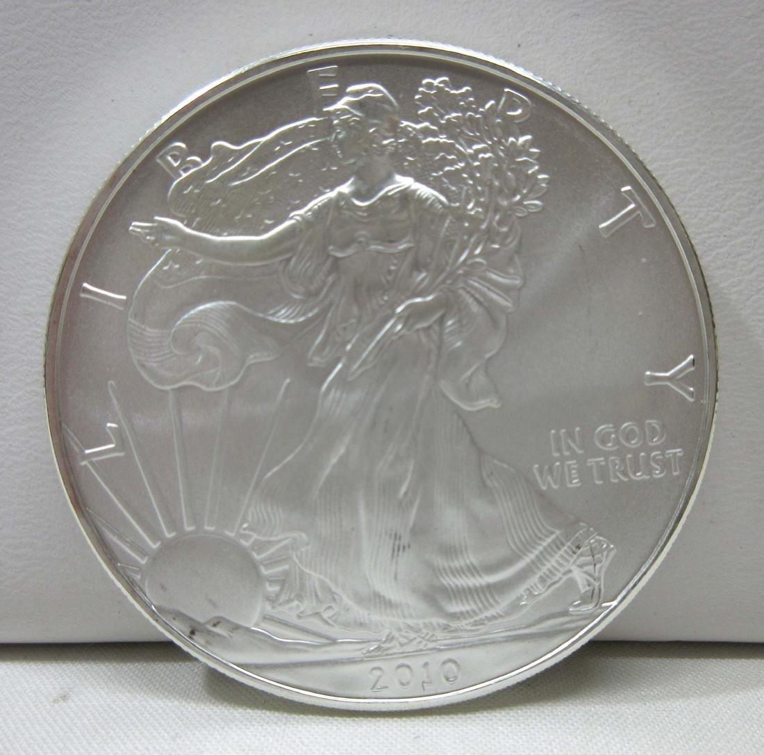 2010 Silver Eagle Unc.