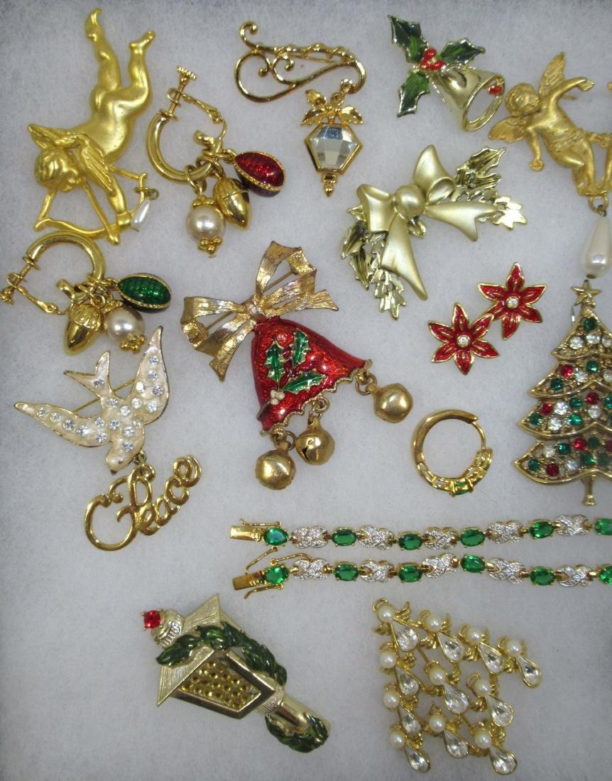 Quality Christmas Jew. 14kt E.P.,CZ, Lenox - 2