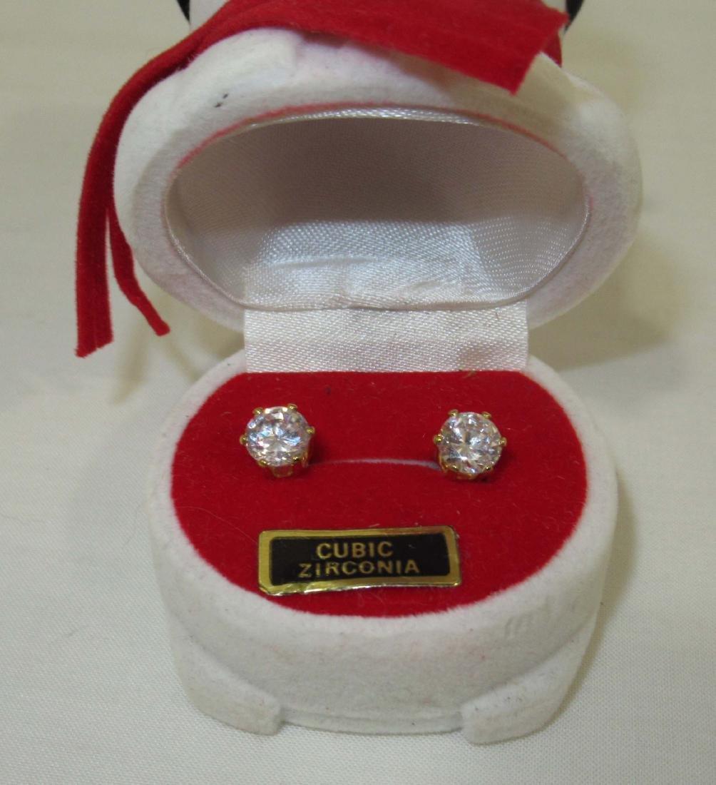 Quality Christmas Jew. 14kt E.P.,CZ, Lenox - 4