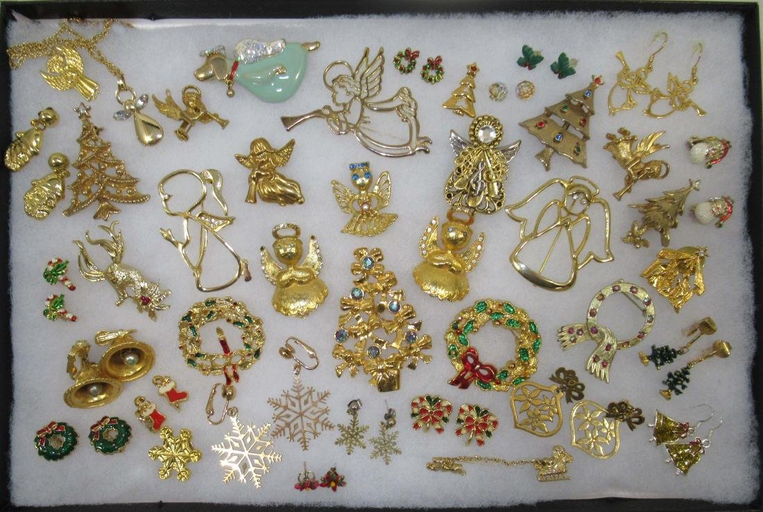 Angels Galore!!! Christmas Jewelry 40pc