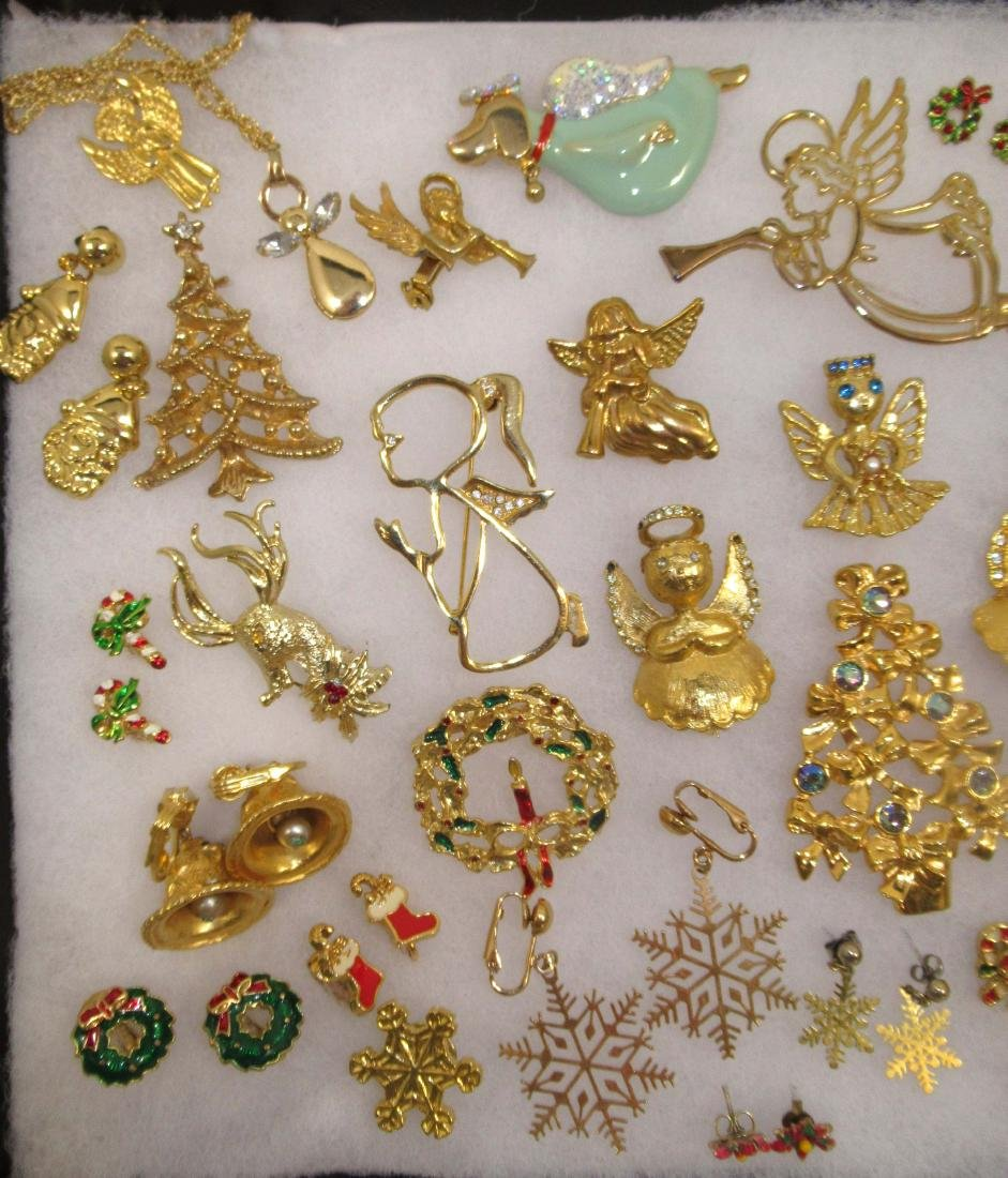 Angels Galore!!! Christmas Jewelry 40pc - 2