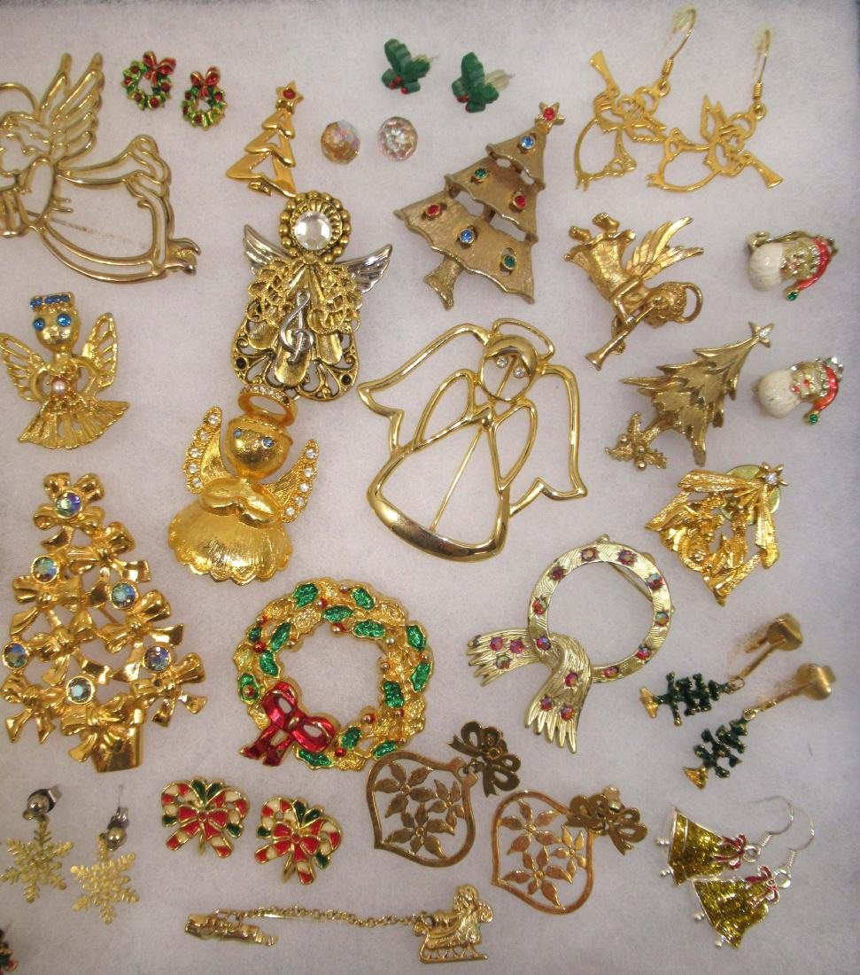 Angels Galore!!! Christmas Jewelry 40pc - 3