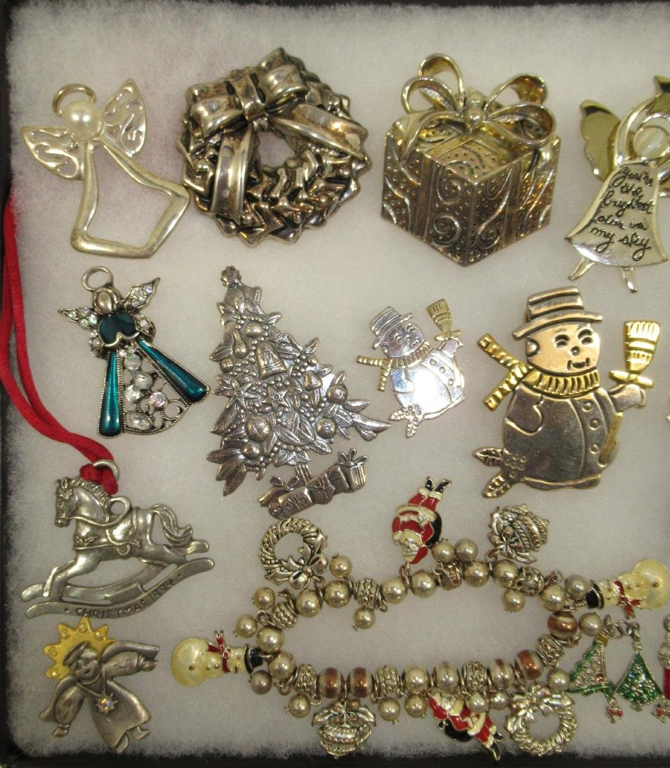 2 Tone Christmas Jewelry, Charms, Angels & More - 2