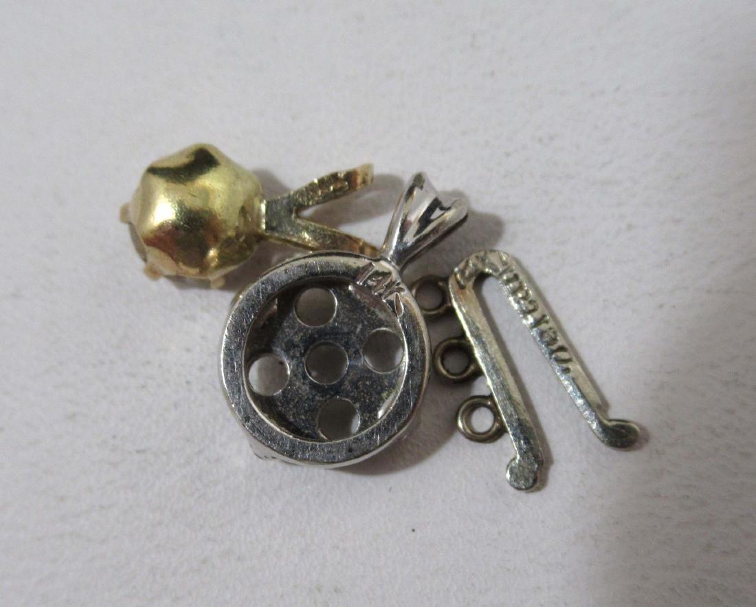 10K & 14kdt Gold Parts & Pieces 16.g - 4