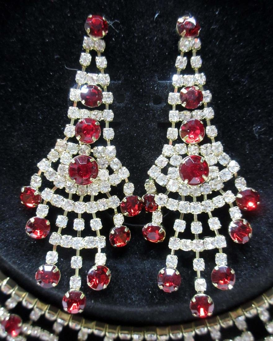 Costume Necklace & Earrings - 3