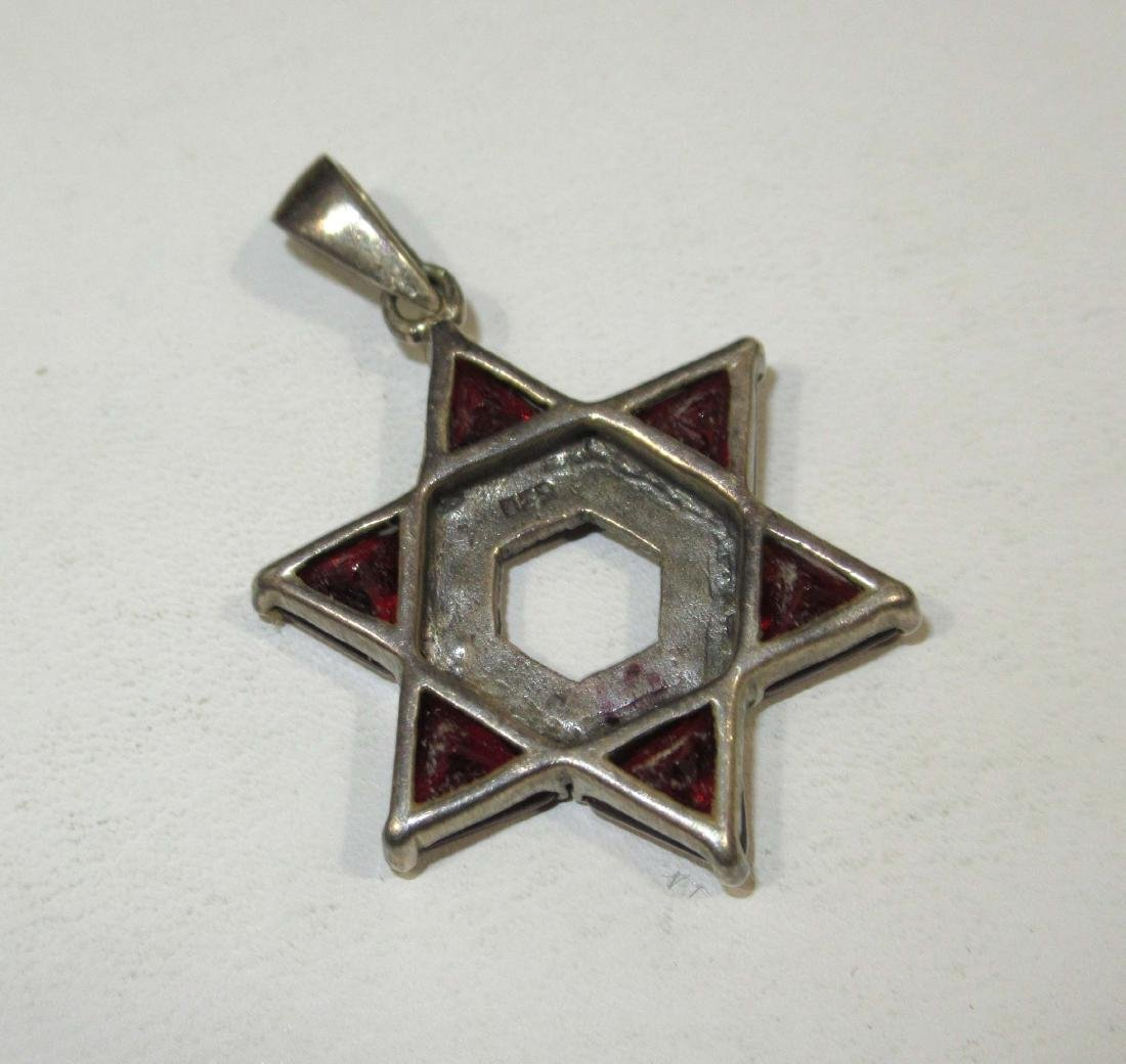 4pc. Marcasite & Garnet Jewelry - 4