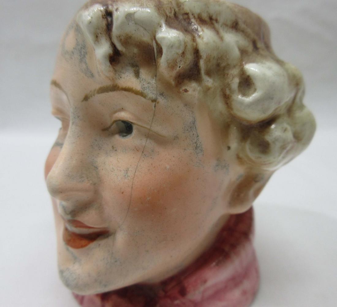 Porcelain Boy Tobacco Jar - 4